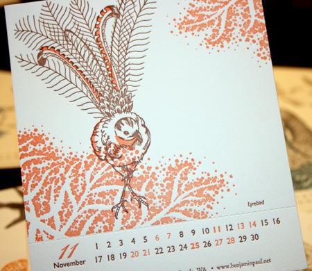 Benjamin Paul Calendar 013