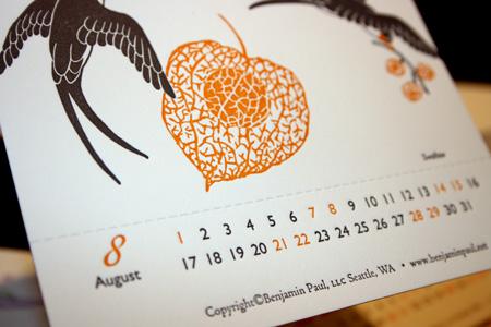 Benjamin Paul Calendar 015