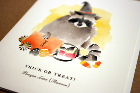 Driscoll Design Halloween greeting card