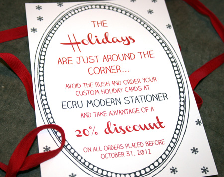 Holiday Promotion Discount