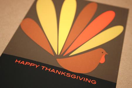 Great Arrow Turkey Greeting Card