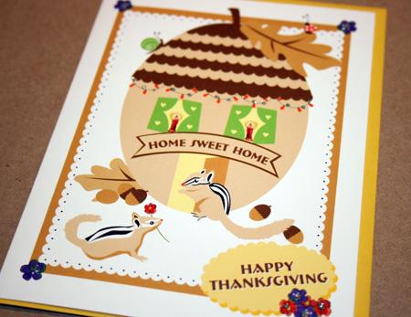 Driscoll Designs Thanksgiving card
