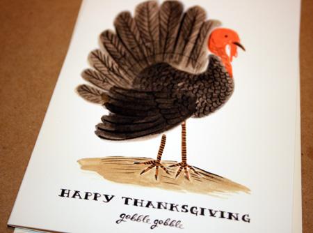 Rifle Thanksgiving Card