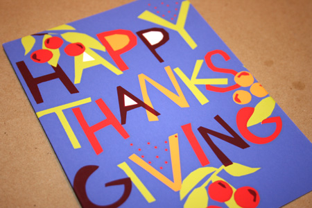 Great Arrow Thanksgiving Card