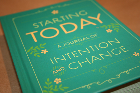 Intention and Change Journal