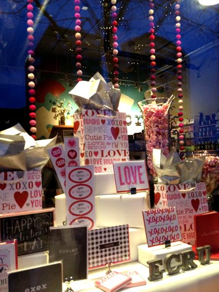 Valentine window 2013