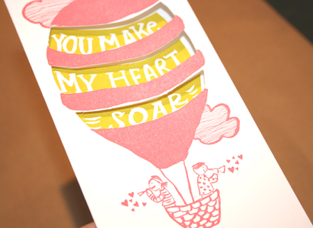 Egg Press Valentine