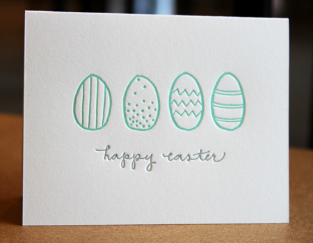 Ink Meets Paper easter eggs