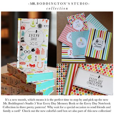 Mr. Boddington's Studio Collection Blog