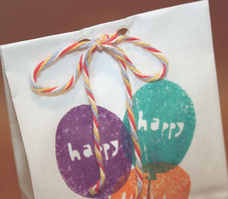 Stamp Treat Bags