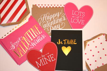 Sugar Paper Valentines