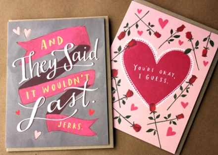 Cards by Emily McDowell, $4.75 each.