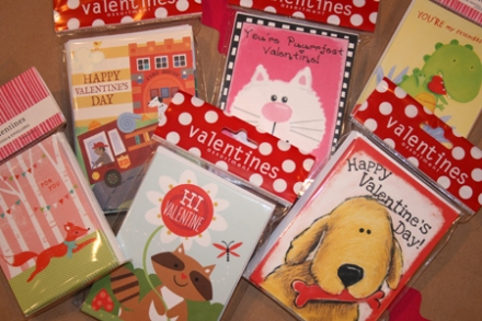 Kids Valentines, $7.00 for 15 assorted designs