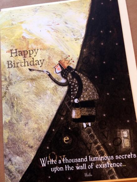 Sacred Bee Birthday cards, $4.25